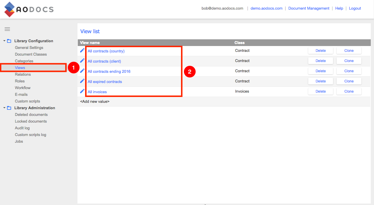 Insert a view into a google site aodocs knowledge base selecting a view pronofoot35fo Image collections