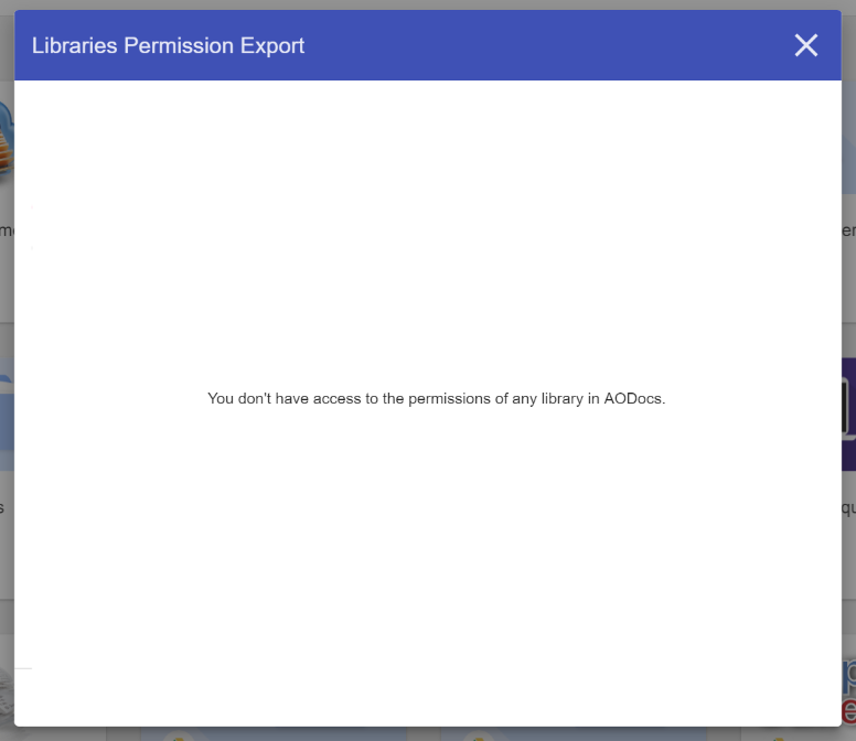 Use AODocs bookmarklet: Permission Export – AODocs Knowledge